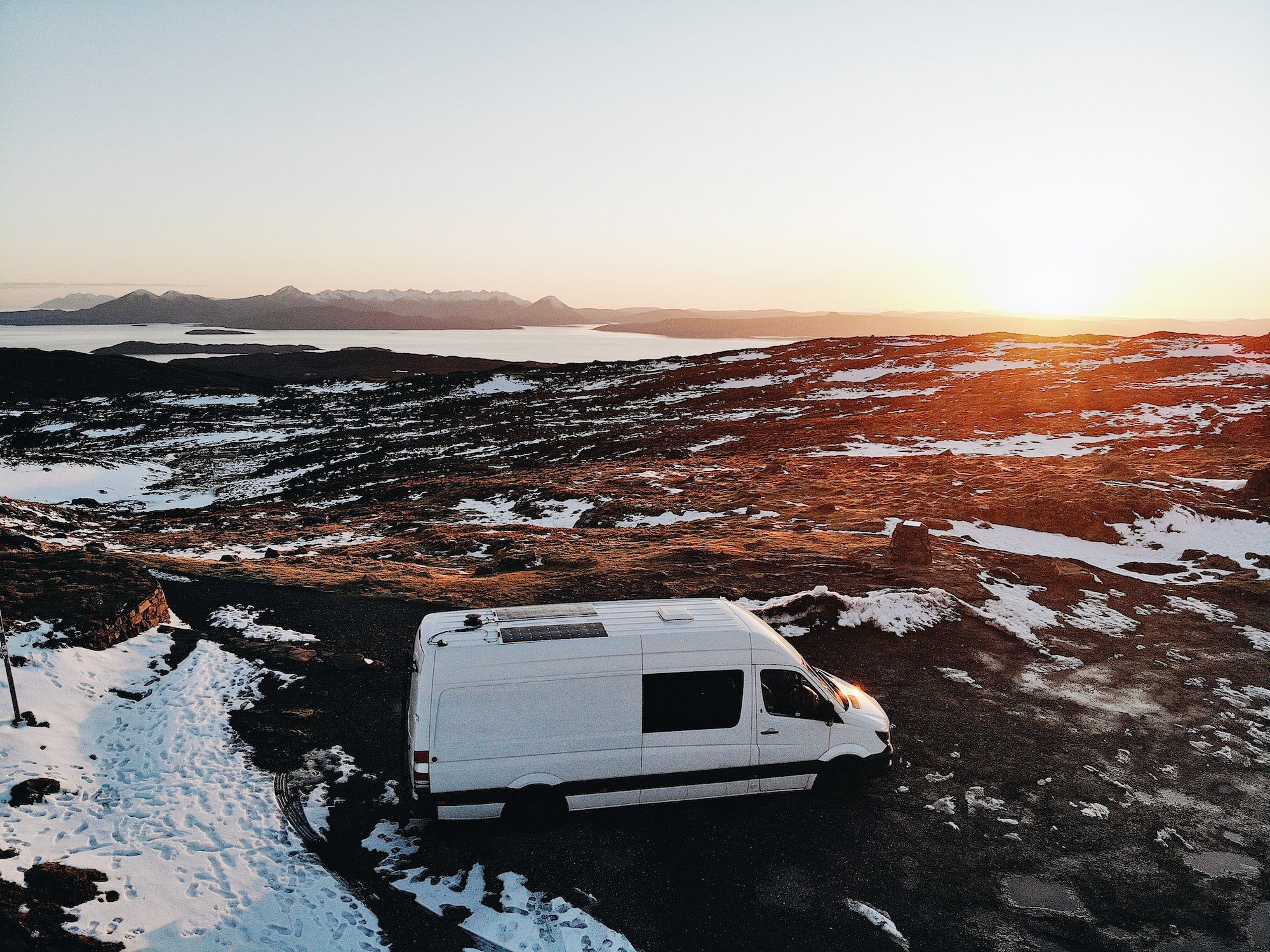 vanlife jobs and staying connected