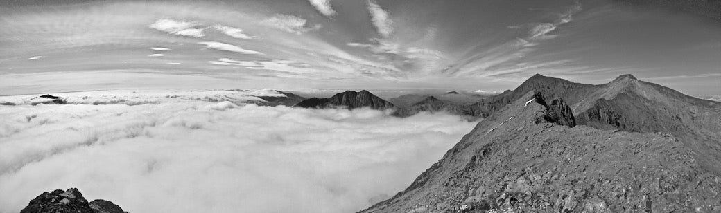Cloud inversion on snowdon