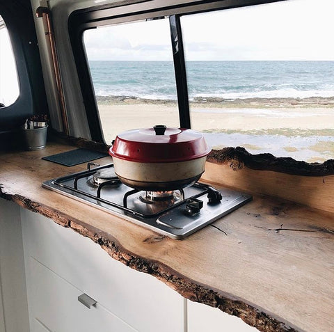 Omnia Oven stove top cooker for campervan and camping