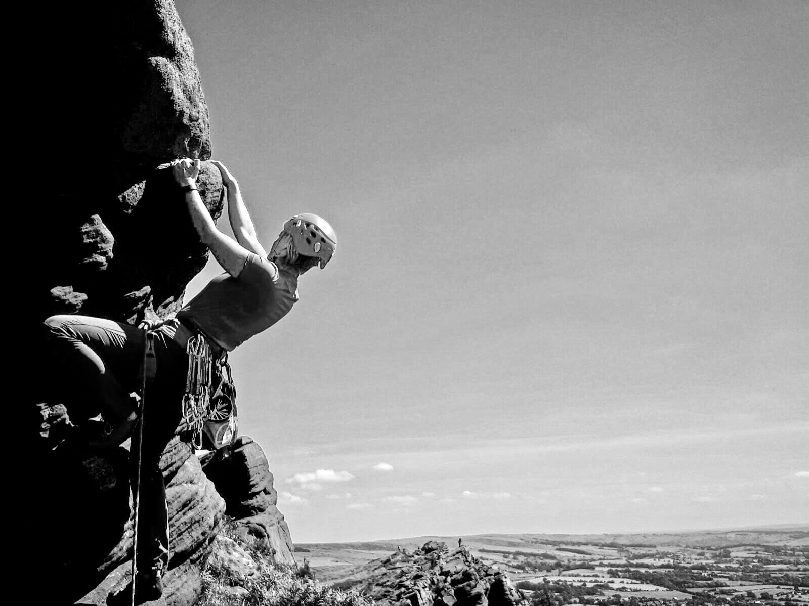 The roaches rock climbing