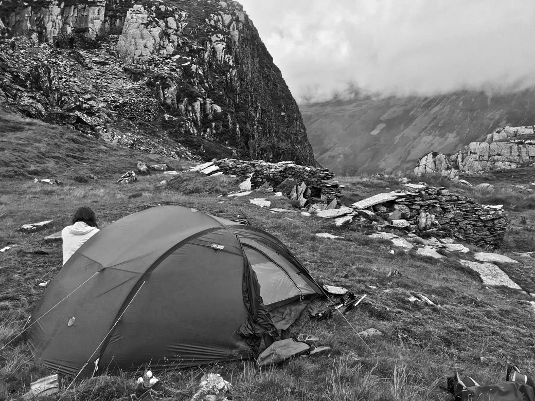 Finding a wild camping pitch