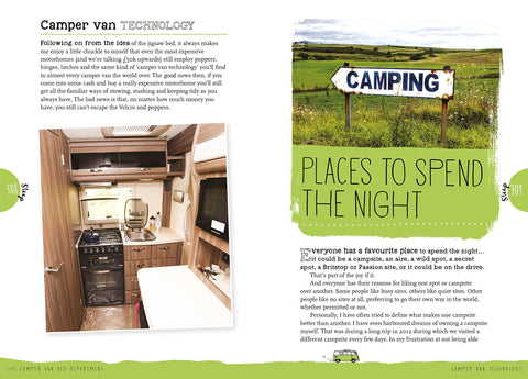 The Campervan Bible by Martin Dorey van life book