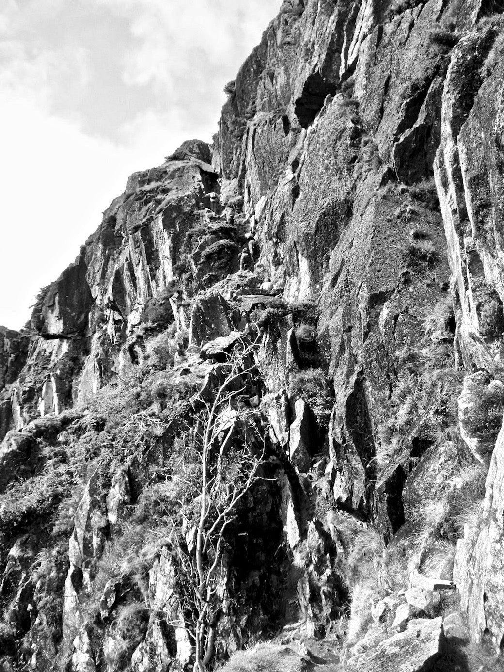 Best scrambles in the Lake District - jacks rake