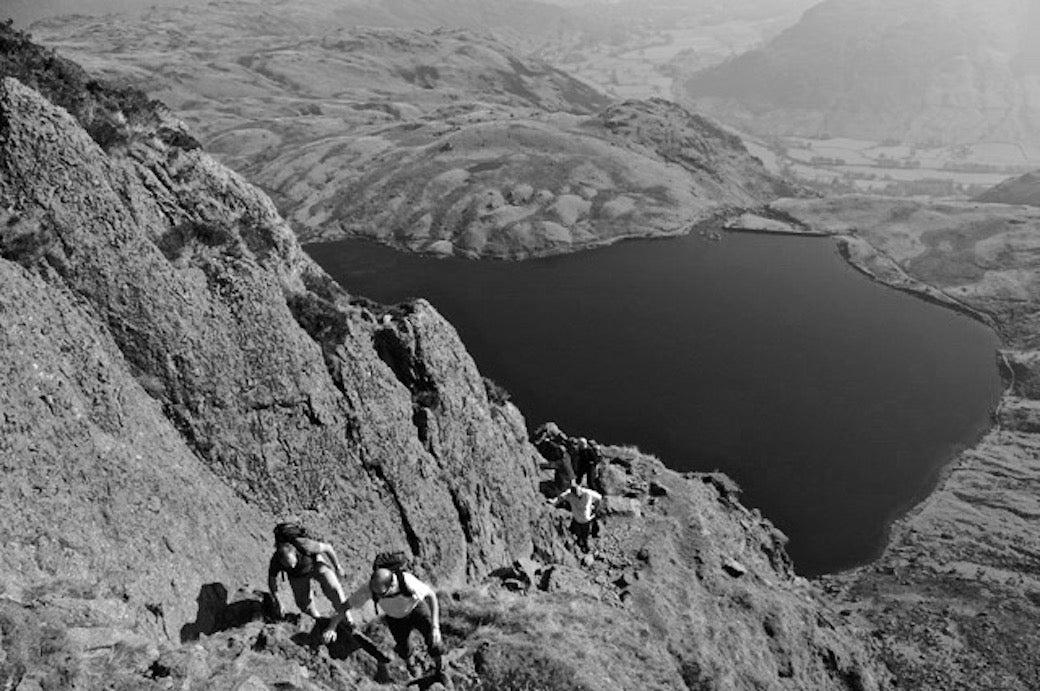 Jacks rake scramble in the Lake District