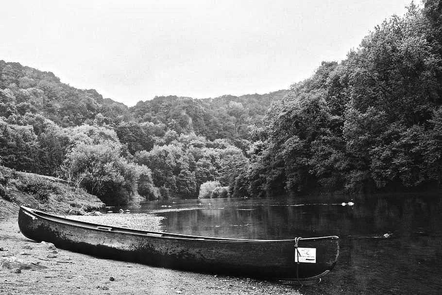 Canoeing on the river wye - best uk campervan destination