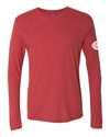 Unisex Long Sleeve Triblend Crew