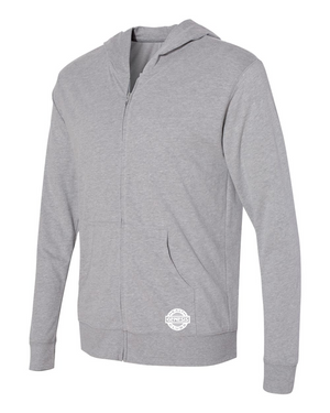 Sueded Full Zip Hoody
