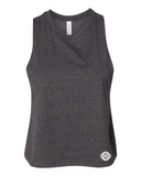 Ladies Racerback Cropped Tank