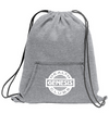 Fleece Sweatshirt Drawstring Bag
