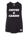 Coffee & Cardio Ladies Crop Tank