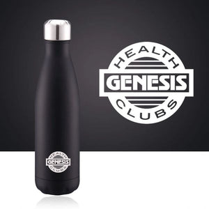 Vacuum Insulated Stainless Steel Water Bottle - Matte Black