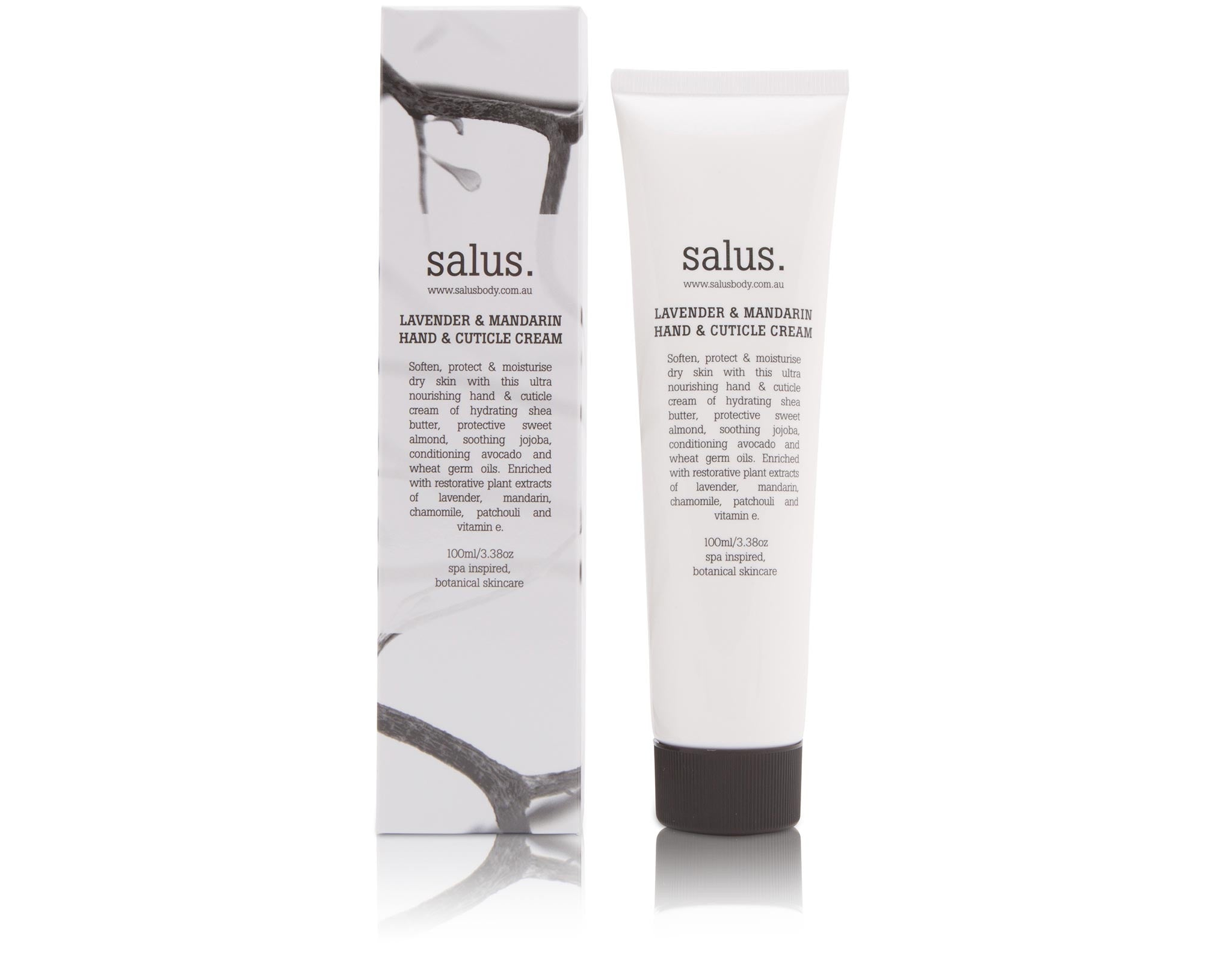 Salus. LAVENDER & MANDARIN HAND & CUTICLE CREAM -100ml