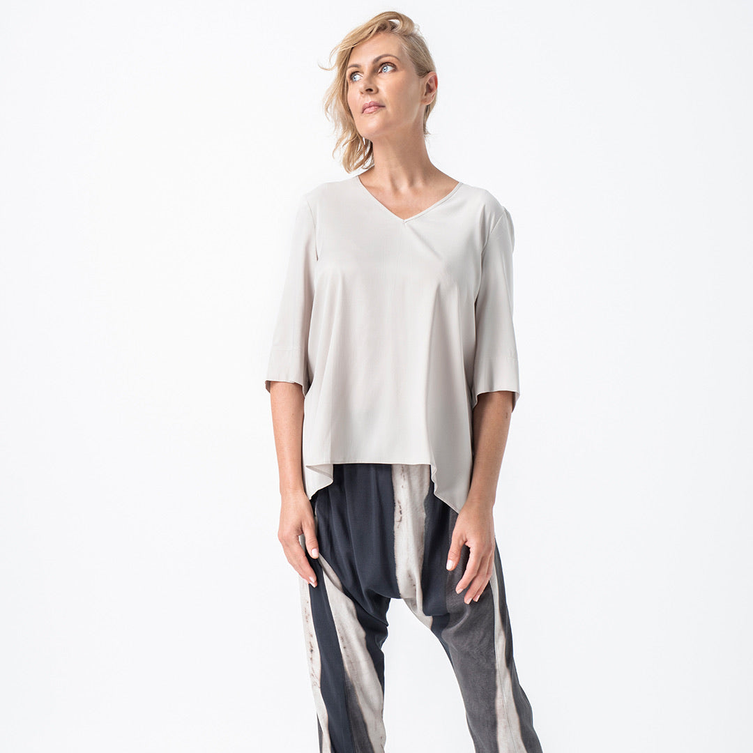 Lounge the Label II GIGI Top / oyster