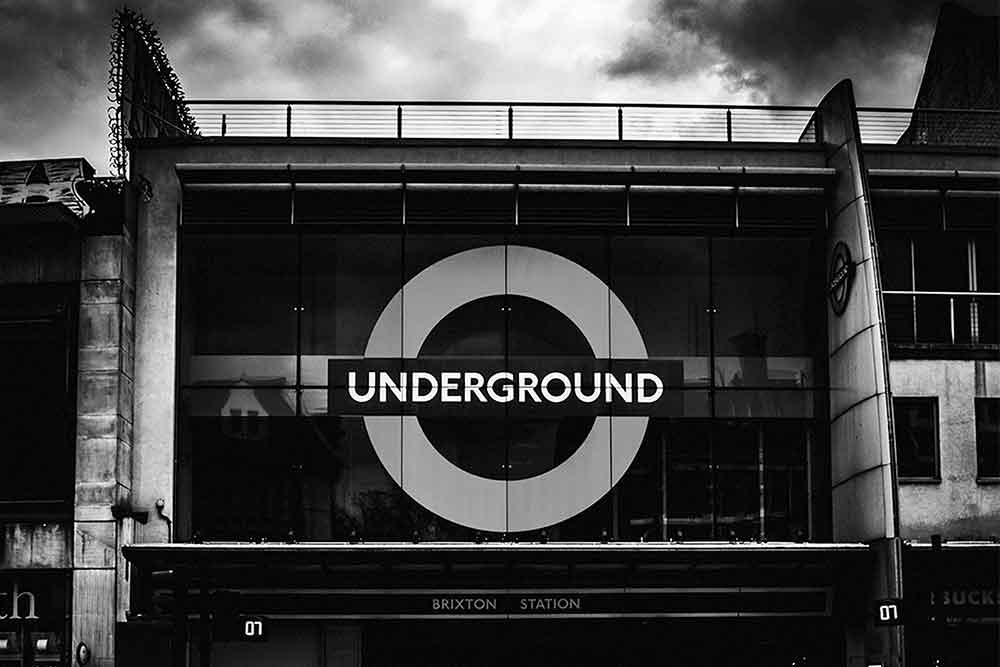 Picture Of The London Underground Sign