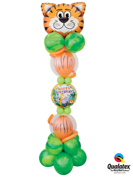 Terrific Tiger Tower - Balloonery