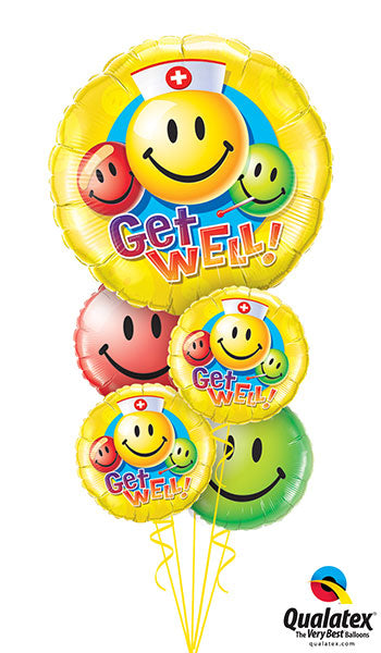 Get Well Smiles! - Balloonery