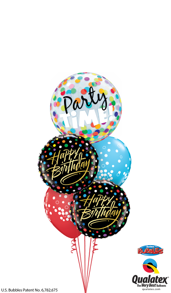 Happy Birthday, It's Party Time - Balloonery
