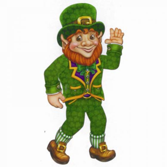 LEPRECHAUN JOINTED CUTOUT - Balloonery