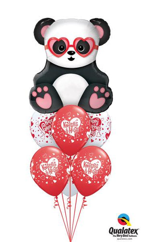 Panda Hugs & Kisses - Balloonery