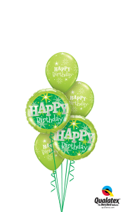 Green Happy Birthday