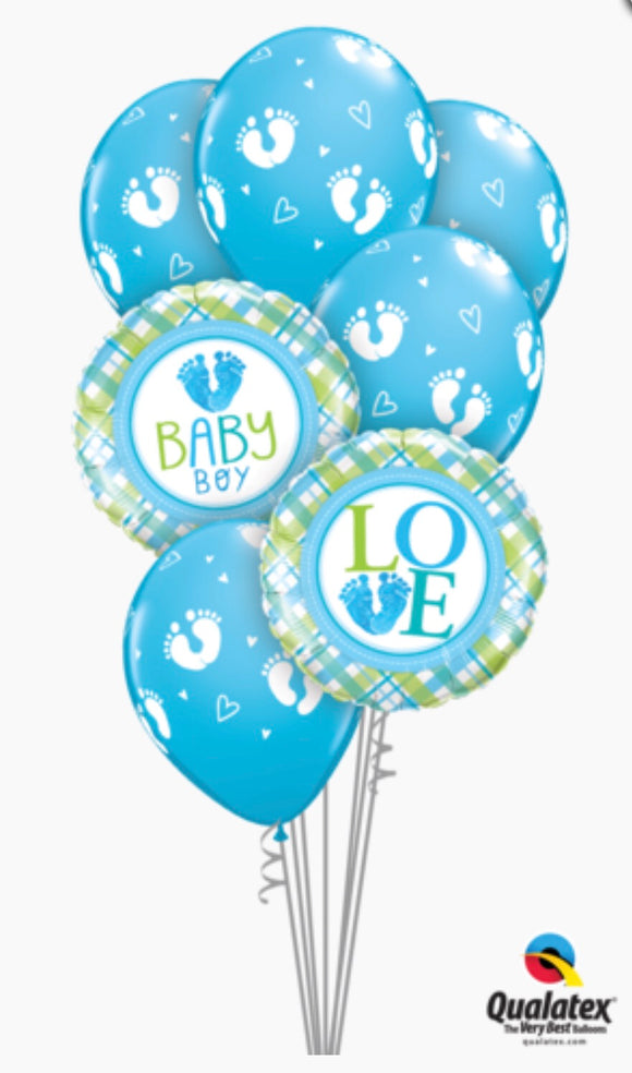 Baby Boy Bouquet - Balloonery