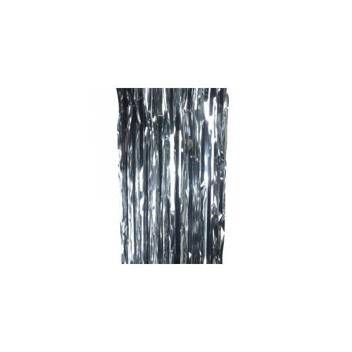 Metallic Curtain Silver - Balloonery