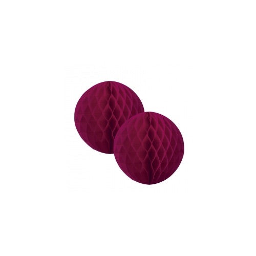 Paper Party Honeycomb Wildberry 15cm (2pk) - Balloonery