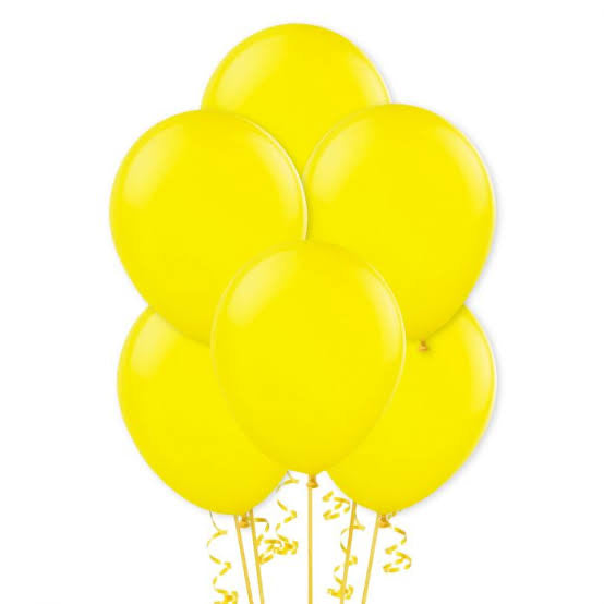 Yellow Balloon Bouquet