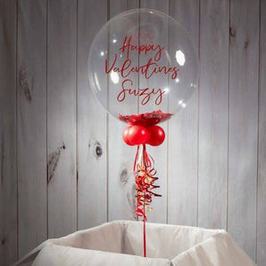 Personalised Valentines Balloon - Balloonery