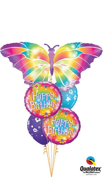 Happy Birthday Butterfly - Balloonery