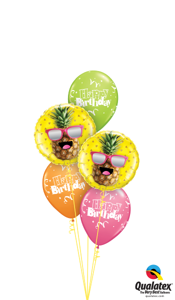 Happy Pineapple, Happy Birthday! - Balloonery