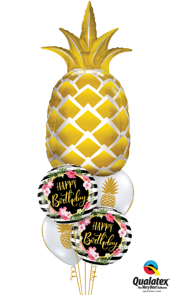 Pineappley Birthday - Balloonery