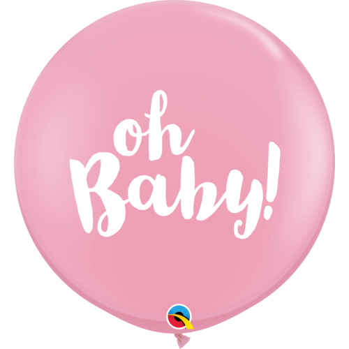 Pink Oh Baby - Balloonery