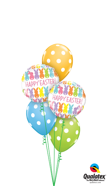 Happy Easter Polka Dots - Balloonery