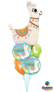 """Loveable Llama"" Birthday - Balloonery"