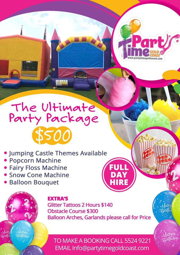 Ultimate Package Package - Balloonery