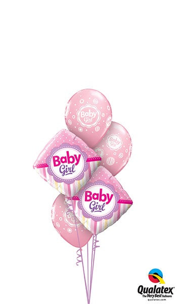 Pink Diamond Baby Girl - Balloonery