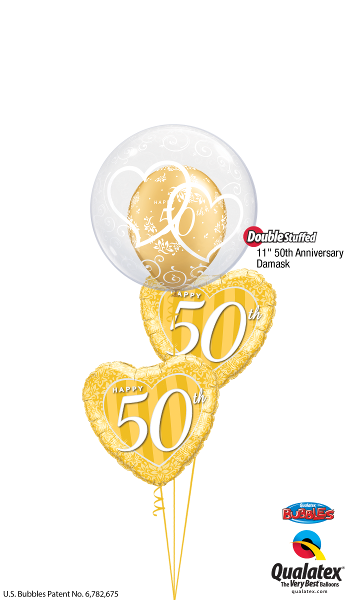 Gold Heart Anniversary