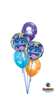 Undersea Birthday Bash - Balloonery