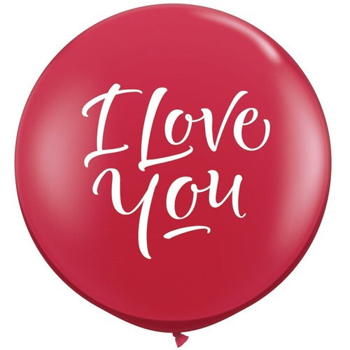 I Love You Script - Balloonery