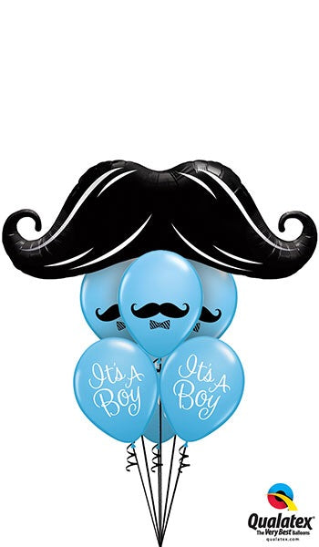New Dad Mustache - Balloonery