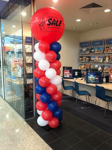Balloon Column 3ft Latex Topper - Balloonery