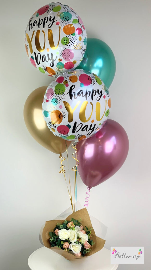 Happy You Day Bouquet - Balloonery
