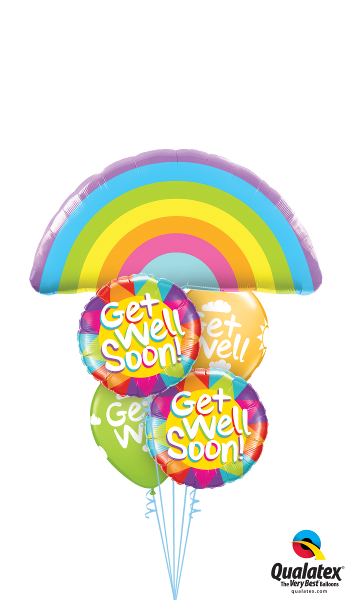 Get Well Rainbow - Balloonery