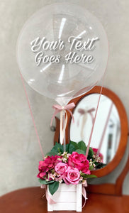 Personalised Hot Air Balloon