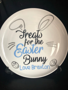 Treats for Easter Plate - Balloonery