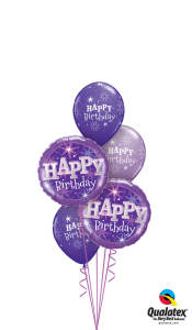 Purple Happy Birthday