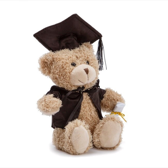 Graduation Teddy Bear Smarty Pants Light Brown