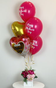 Pink Rose Bouquet - Sold Out - Balloonery