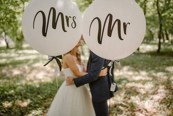 Mr & Mrs - Balloonery